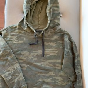 Sanctuary camoflauge hoodie
